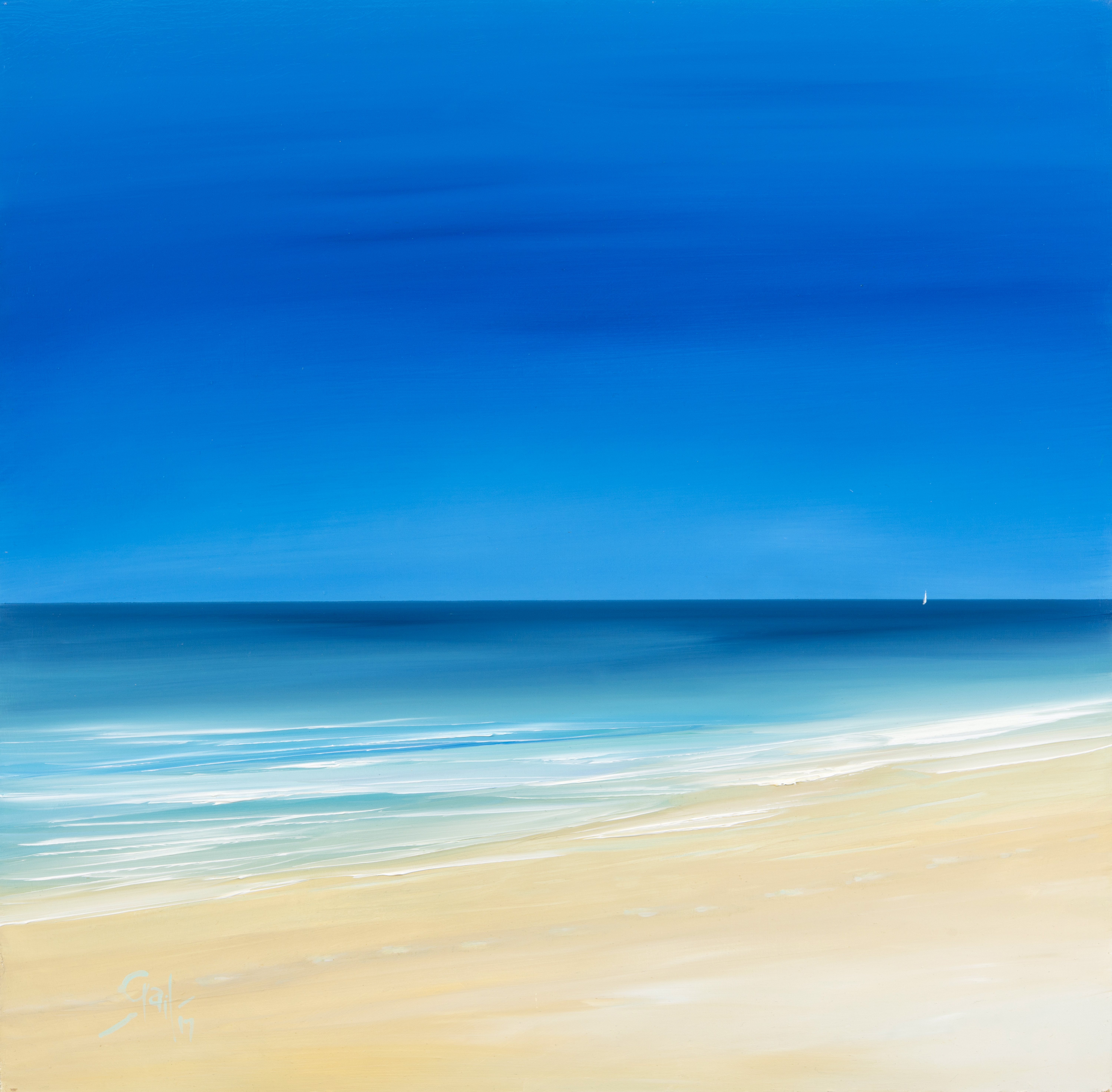 'Blue Summer' - St Ives / Hayle, Cornwall