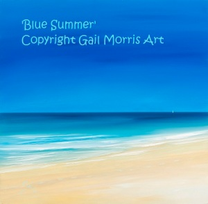 'Blue Summer' Hayle Cornwall