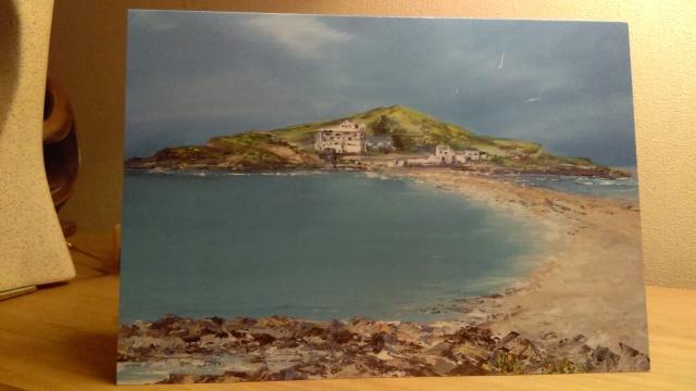 'Burgh Island', Bigbury on Sea, Devon Greeting Card
