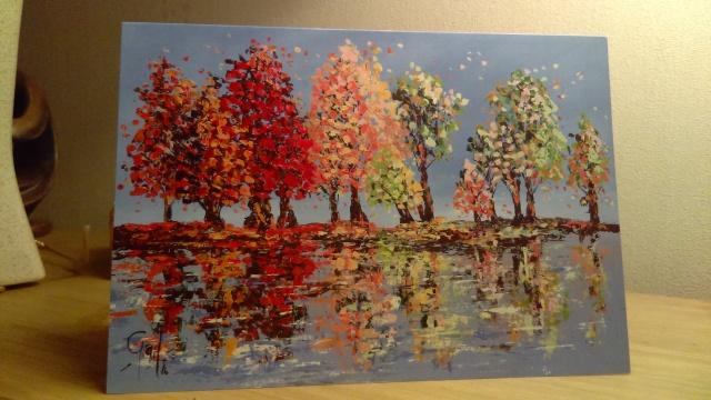 When the Wind Blows - A5 Greeting Card by Gail Morris Art