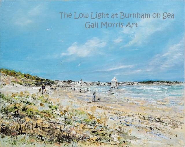 Low Light at Burnham on Sea