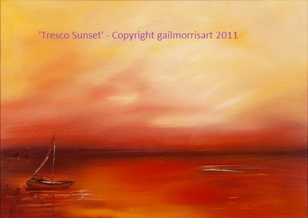 Tresco Sunset - Isles of Scilly