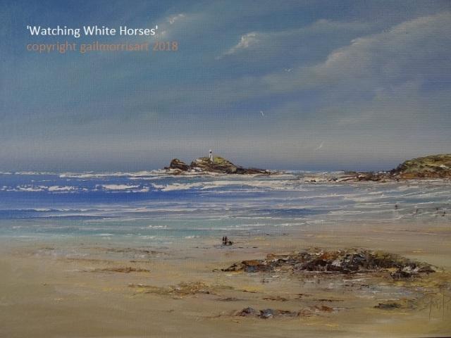 'Watching White Horses'