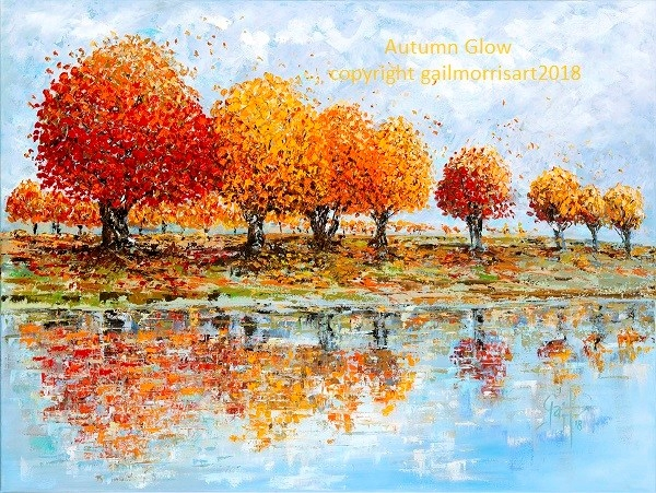 Limited Edition Prints 'Autumn Glow' from £45inc pp from gailmorris www.gailmorris.co.uk