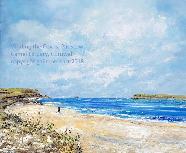 'Finding the Coves' Padstow to St Georges Well Cove and Hawkers Cove, Camel Estuary, Cornwall Original £POA