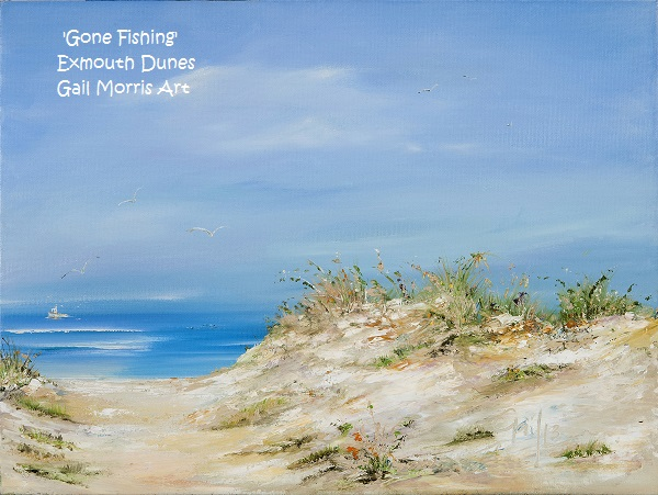 'Gone Fishing' Limited Edition Prints from an original oil painting by Gail Morris. Prices start from £30 - £68