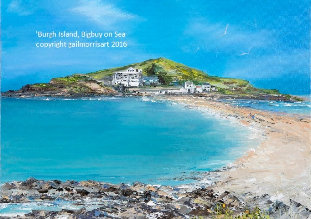 Burgh Island, Bigbury on Sea. Limited Edition prints £38 - £55