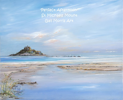 'Perfect Afternoon' St Michaels Mount Cornwall