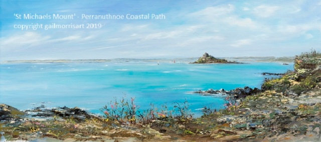 St Michaels Mount - Perranuthnoe Coastal Path