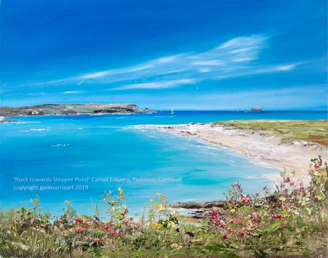 'Rock to Stepper Point' - Camel Estuary, Across to Padstow, Cornwall