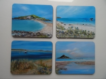 Beach Collection Melamine Coasters and Placemats