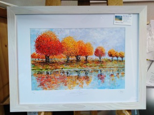 'Autumn Glow' Framed with limed Ash Frame £78 & £90 & £135