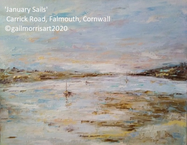 'January Sails' St Mawes and Falmouth