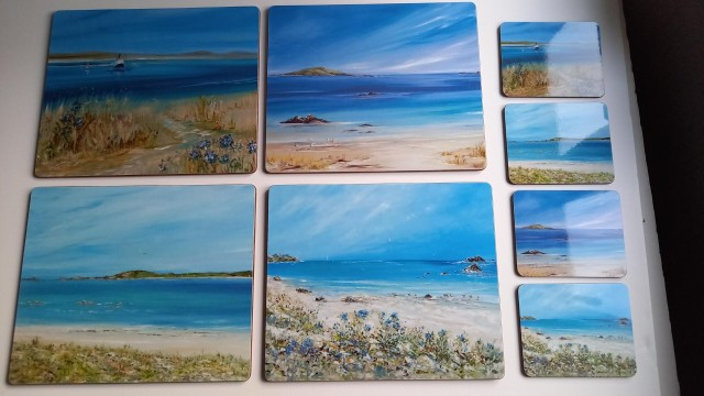 Scilly Set Placemats and Coasters