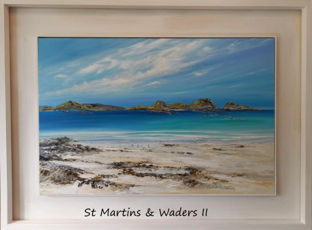 St Martins & Waders II - Original now released for reservation May 2021 £495