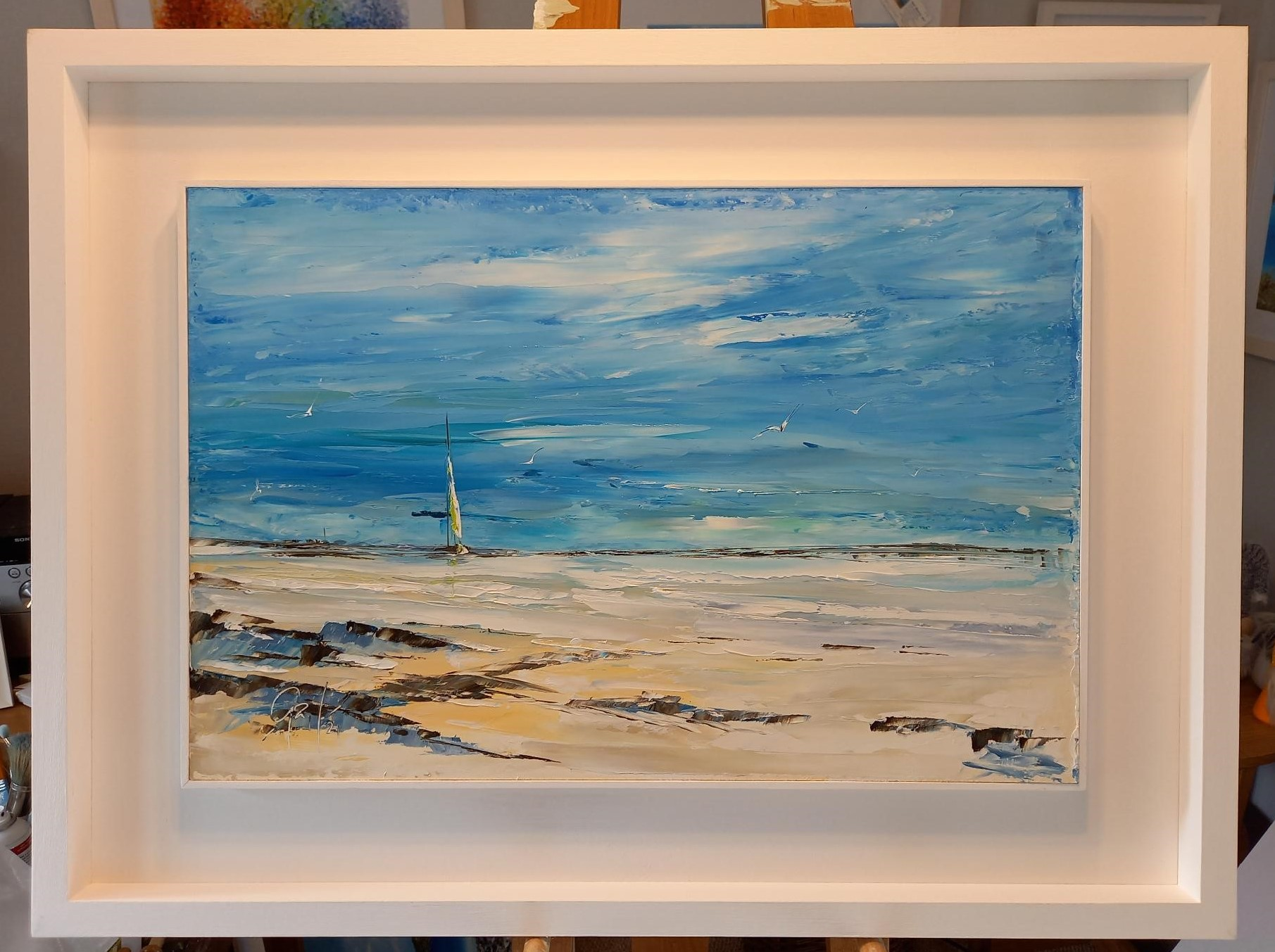 'Sailing Days' - New original oil painting just released 25.5.21 £345