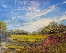 Foxgloves & Bluebells